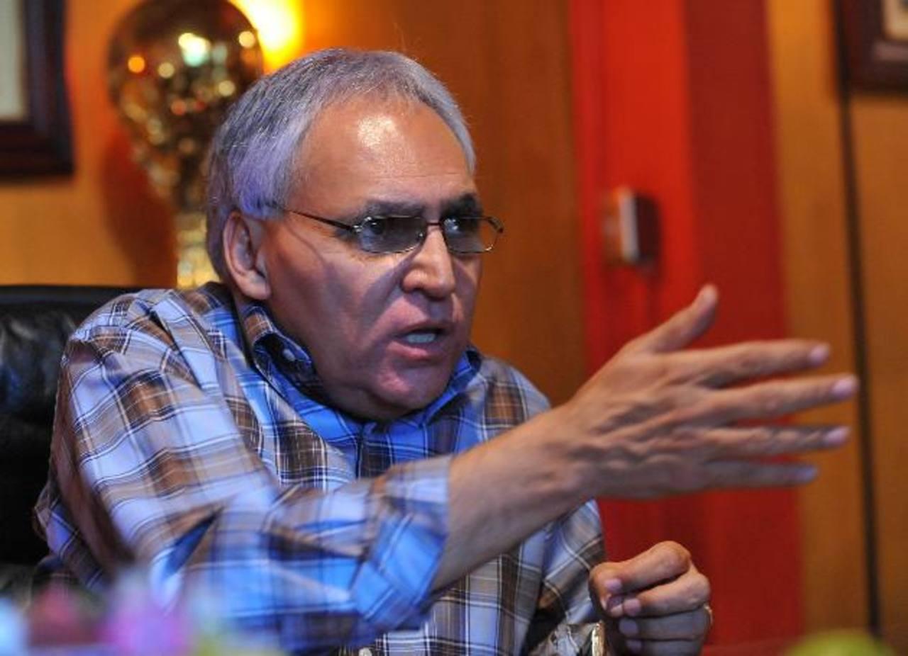 El presidente de Alianza, Lisandro Pohl, dijo que Montes le confesó su responsabilidad. foto EDH / archivo