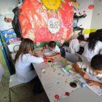 """La Escuela Especial """"Fernando Borja Porras"""", que funciona en el 10 nivel del hospital Bloom, da la oportunidad de estudiar a niños que, según sus padres, """"han sido rechazados de otras escuelas por sus enfermedades"""". fotos edh/mario amaya"""