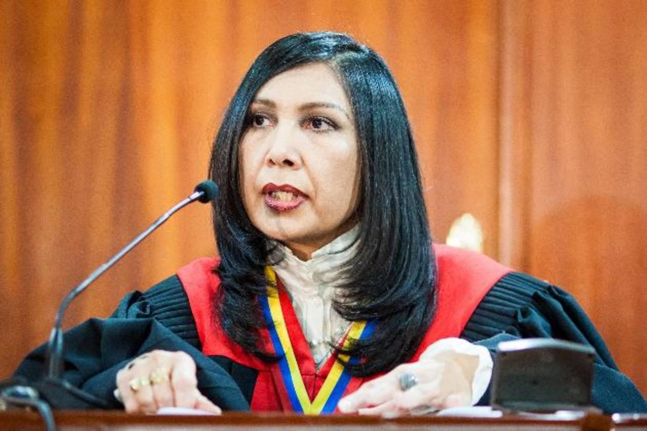 La presidenta del TSJ, Gladys Gutiérrez, declara inadmisible la nulidad de las elecciones presidenciales del 14 de abril.