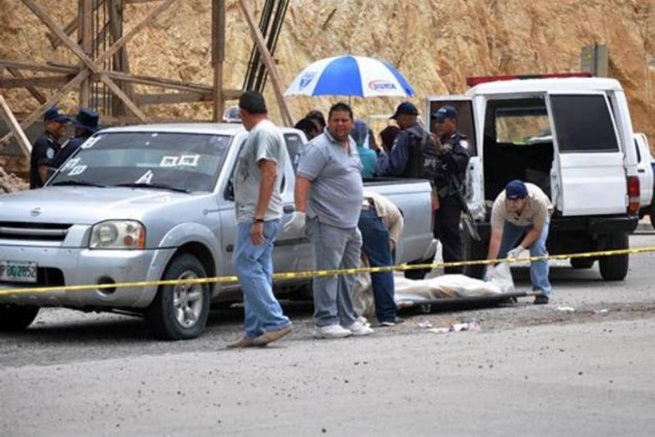 La violencia en Honduras tiene una tasa anual superior a 80 homicidios por cada 100 mil habitantes.