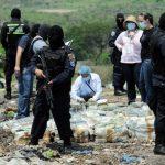 Imagen de archivo del decomiso y posterior destrucción de un alijo de droga en La Mosquitia, en el departamento Gracias a Dios, al norte de Honduras. foto edh /Internet