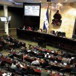 El Congreso Nacional debate la creación de la policía militar. Foto tomada del Heraldo de Honduras