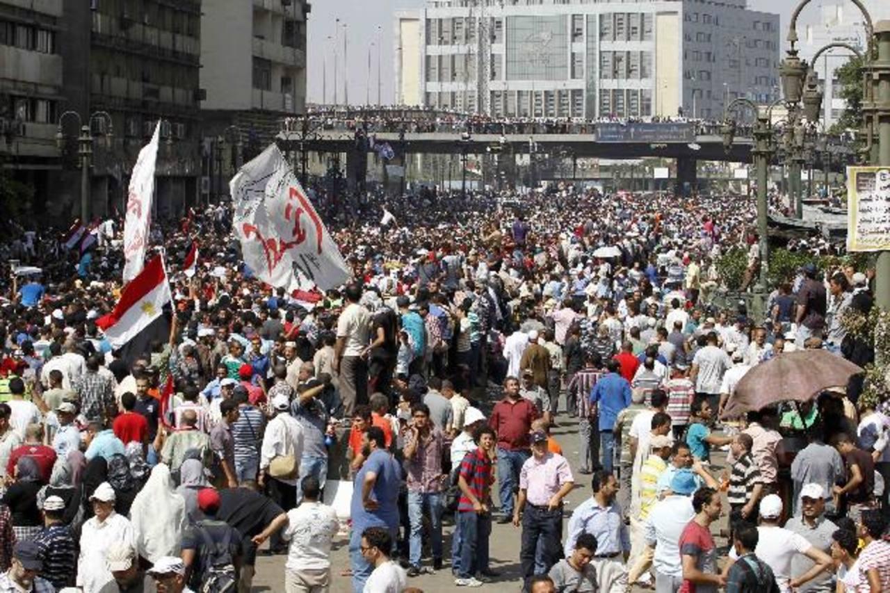 Al menos 64 muertos dejan enfrentamientos en Egipto