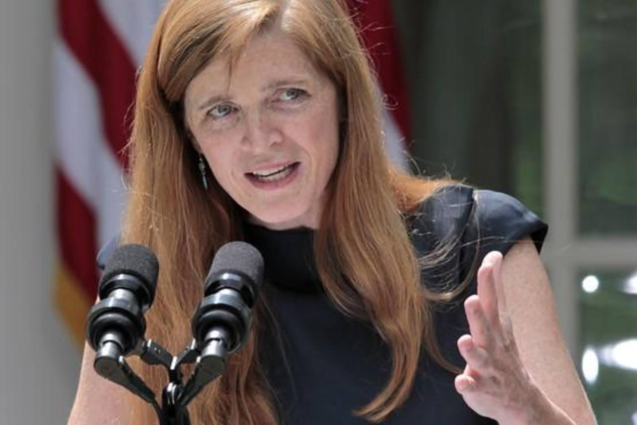 La nueva embajadora de Estados Unidos ante las Naciones Unidas, Samantha Power. foto EDH / internet