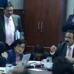 Ministra de Salud, María Isabel Rodríguez, rindió informe ayer sobre casos de insuficiencia renal. Foto EDH / marvin recinos