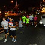 Los corredores realizan varias rutas dentro de la zona de Antiguo Cuscatlán, y cuentan con seguridad en sus recorridos.