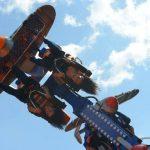 Air Raid es la nueva atracción en Consuma. Esta rueda gira a toda velocidad y produce verdaderas descargas de adrenalina.