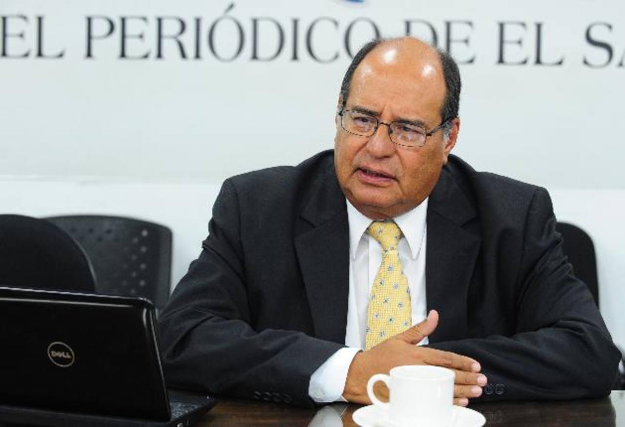 El abogado Francisco Bertrand Galindo consideró que dependerá de los hallazgos de la Fiscalía para tipificar los delitos. Foto EDH / Archivo