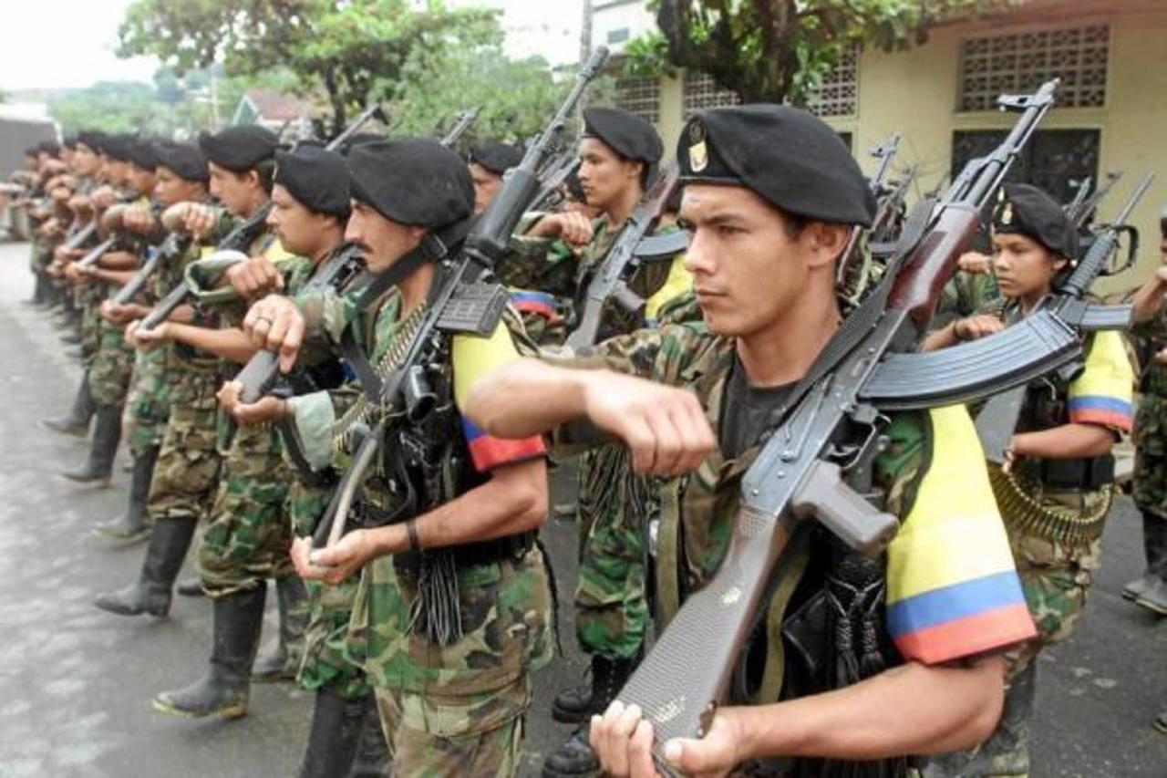 Las FARC obtienen millonarios ingresos del narcotráfico.