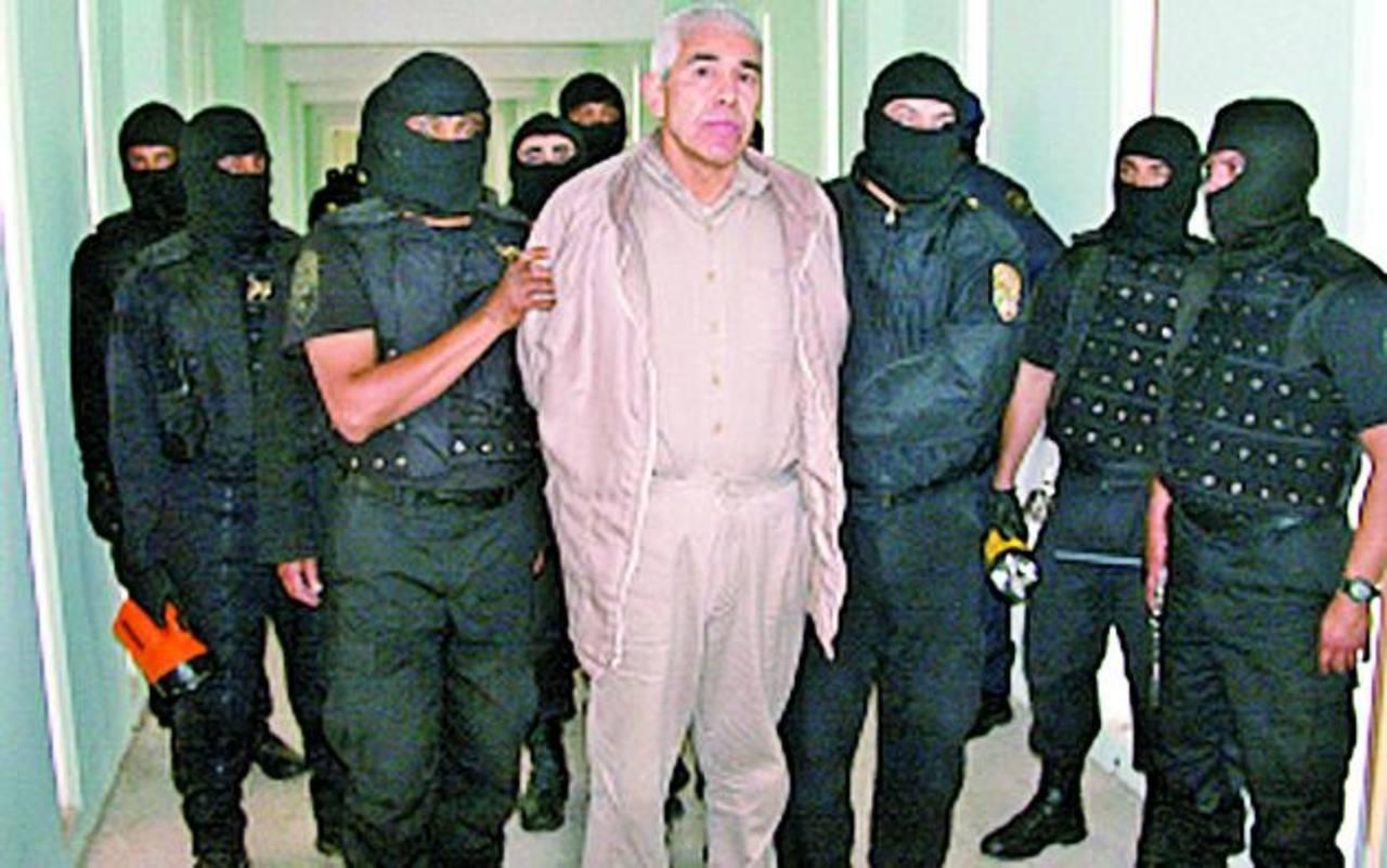 Rafael Caro Quintero en una imagen de 2005 en el penal de Puente Grande, en Jalisco. foto edh / cortesía el universal