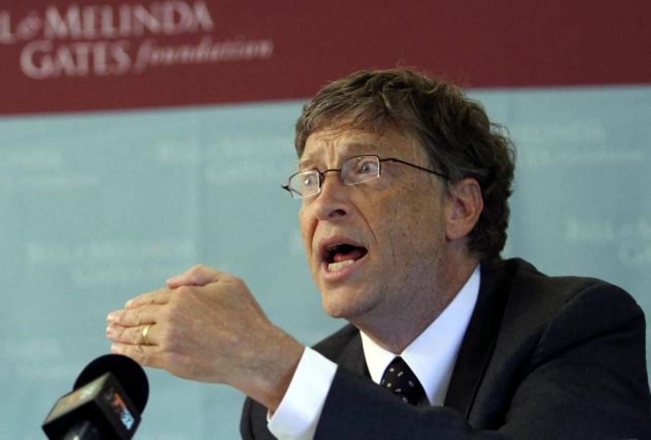 Bill Gates basa su fortuna en el sistema operativo Windows, el cual está presente en nueve de cada 10 computadoras en el mundo. También recibe dividendos de operaciones de bolsa. foto edh