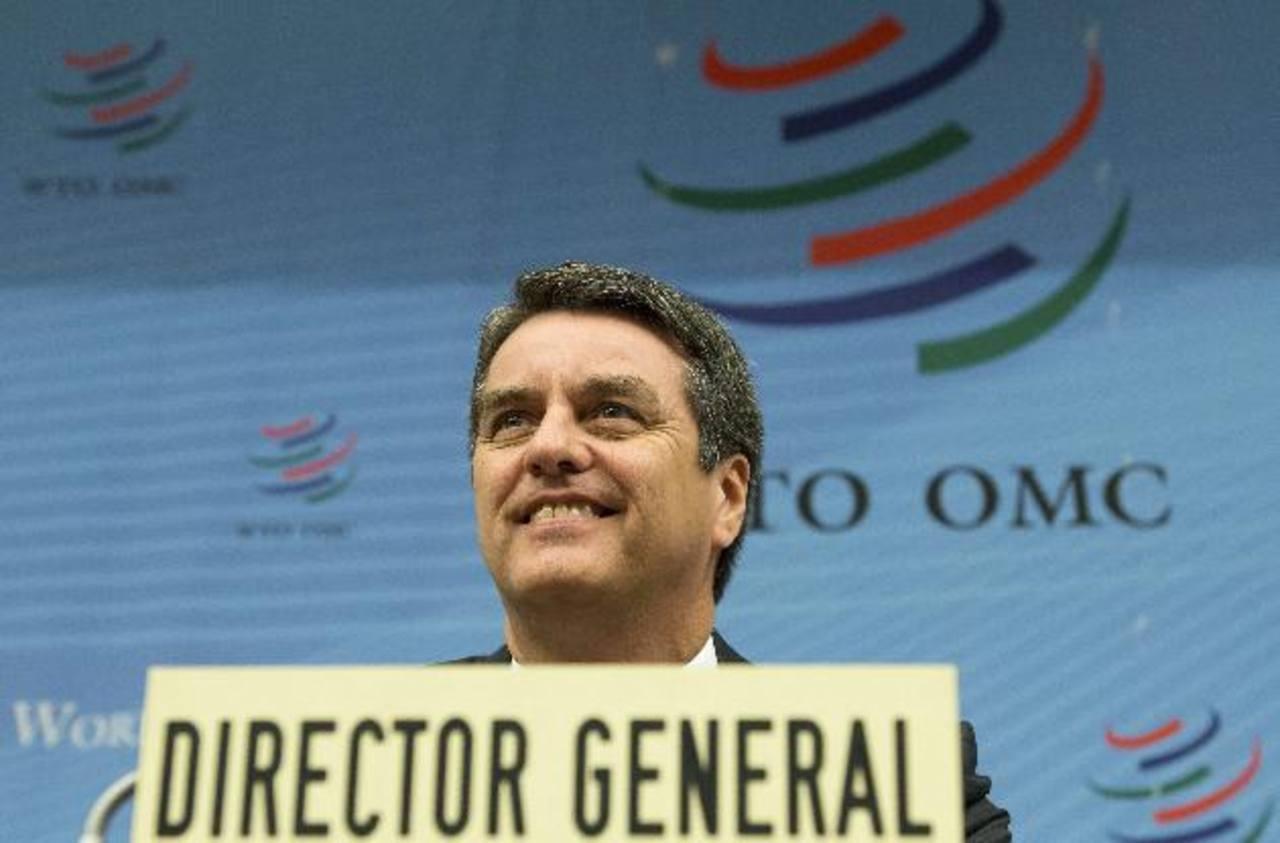 El nuevo director general de la OMC, Roberto Azevedo, dijo que las previsiones fueron recortadas debido a que la economía europea no se había recuperado en el segundo trimestre de este año como se esperaba.