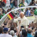 El Papa Francisco durante su visita a Río de Janeiro, Brasil, en la Jornada Mundial de la Juventud.