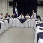 El presidente Mauricio Funes avaló ayer junto al Consejo de Ministros el presupuesto de la Nación para 2014. foto edh / cortesía