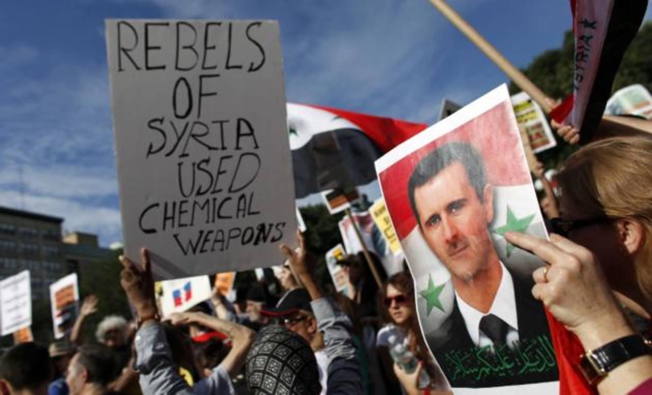 Siria: Asad dice que no hay pruebas de un ataque con armas químicas