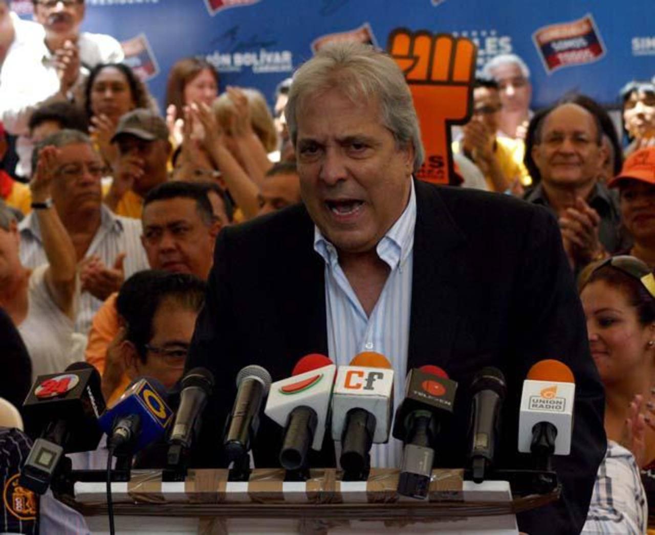 El subsecretario ejecutivo de la Mesa de la Unidad Democrática de Venezuela (MUD), Ramón José Medina.