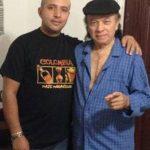 Aniceto y su hijo Johnny