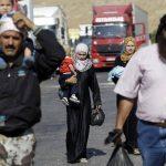El éxodo en Siria. Foto/ AP