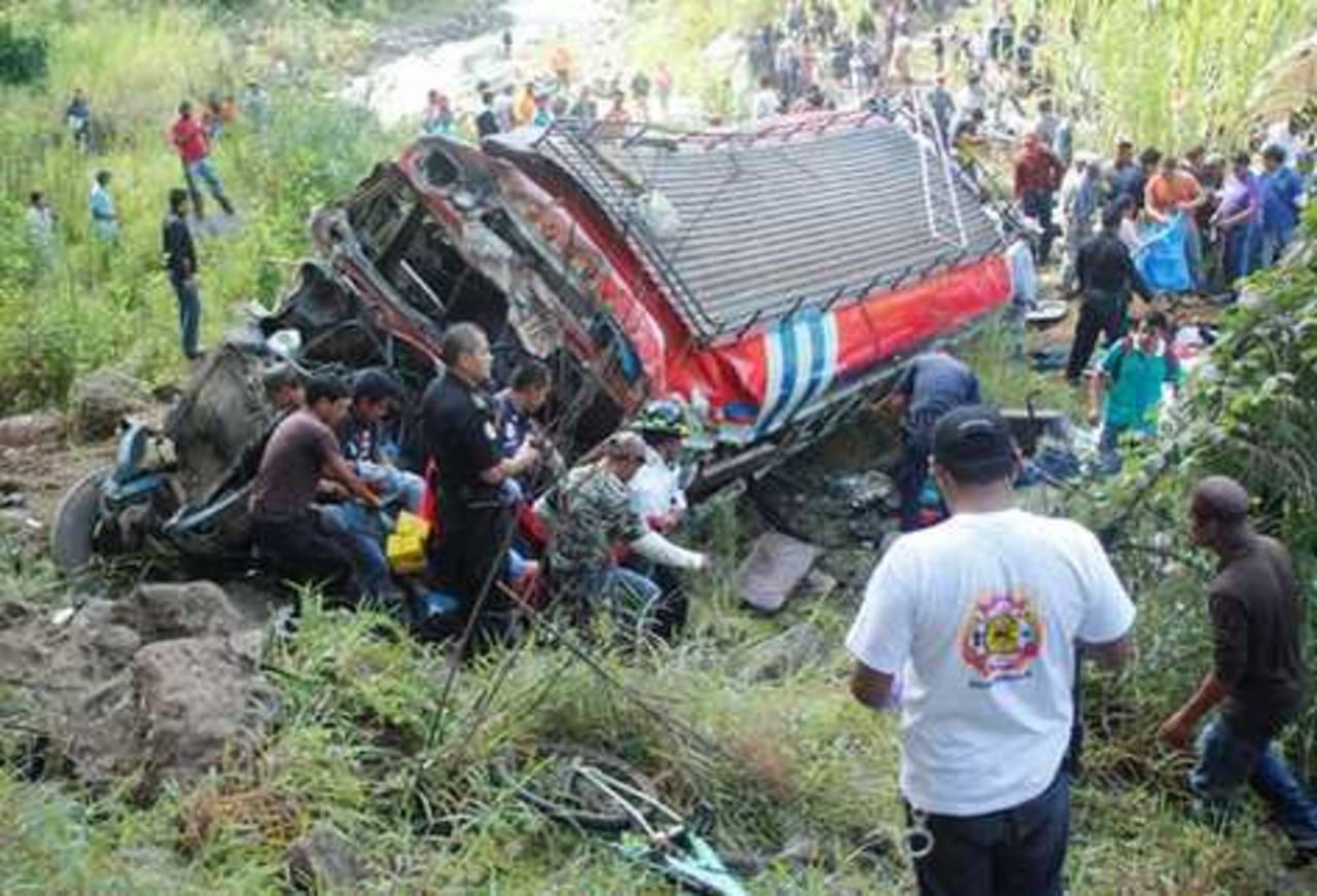 Zona de la tragedia. FOTO EDH prensalibre.com