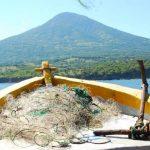 La lancha con los cadáveres fue encontrada en aguas de Nicaragua. FOTO EDH Archivo.