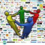 Más de 200 redes sociales, de todos los colores y sabores existen actualmente en el ciberespacio.