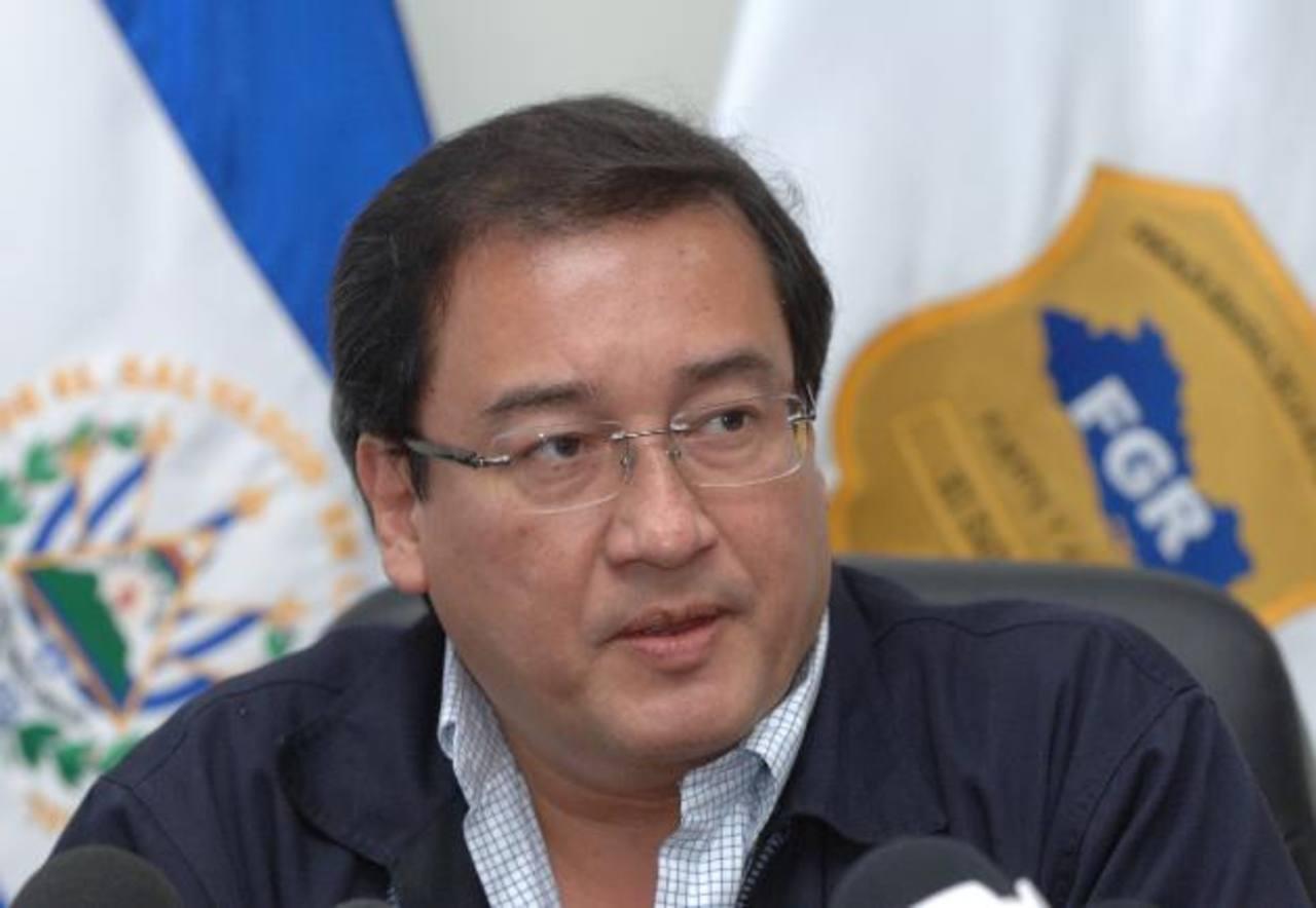 El fiscal general de la República Luis Martínez. Foto/ Archivo