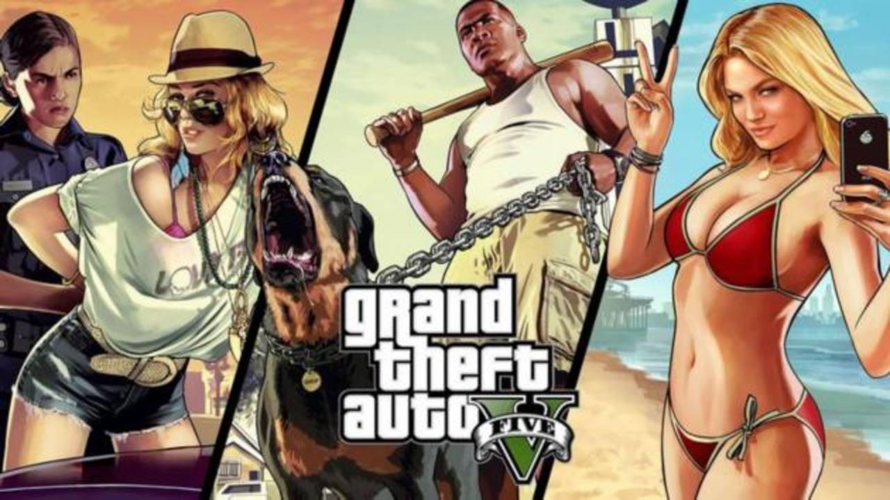 A la venta Grand Theft Auto V