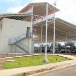 La terminal que se está construyendo en Ahuachapán prevé contar con todos lo necesario para comenzar a funcionar. Foto EDH / ROBERTO ZAMBRANO