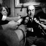 En esta foto del 21 de octubre de 1971, el poeta chileno Pablo Neruda. Foto/ AP