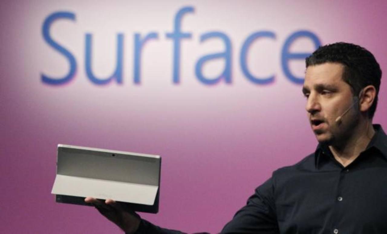 Microsoft presenta nueva tableta Surface