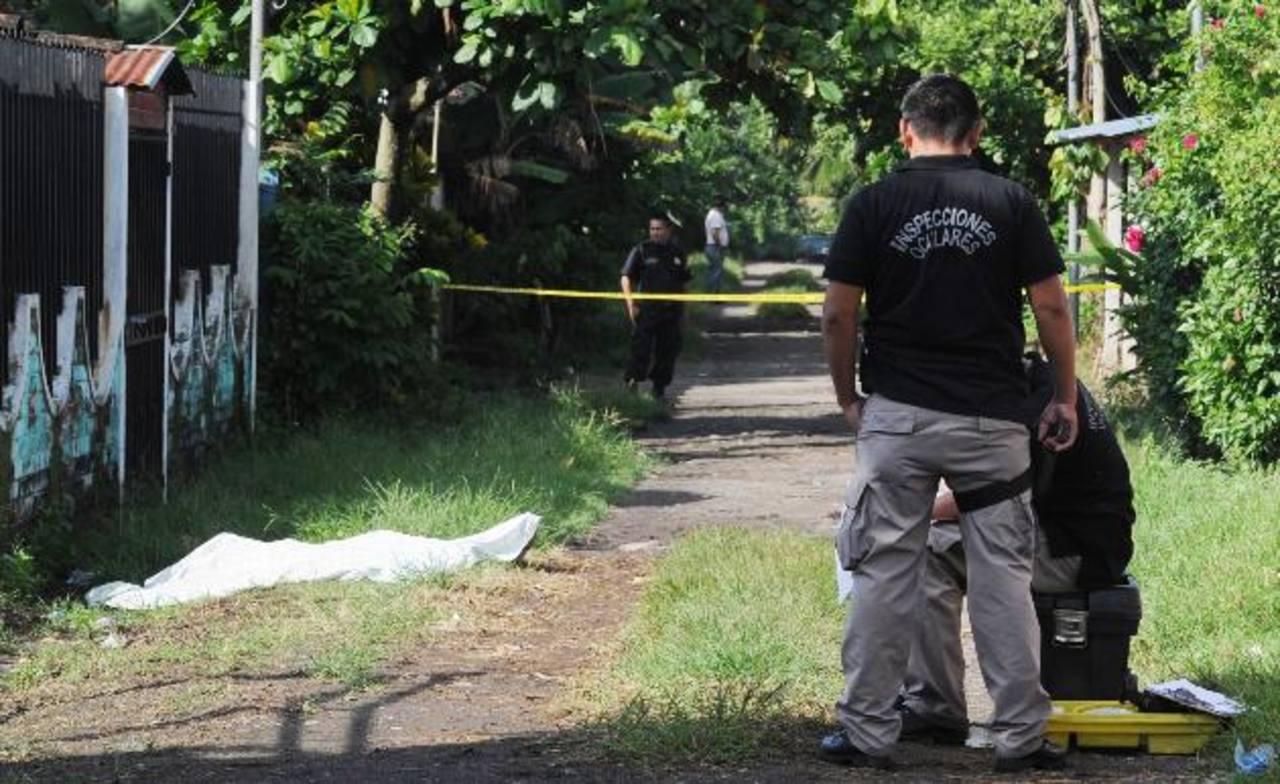 Una de las víctima murió en el lugar y la otra en el hospital. FOTO EDH Archivo.
