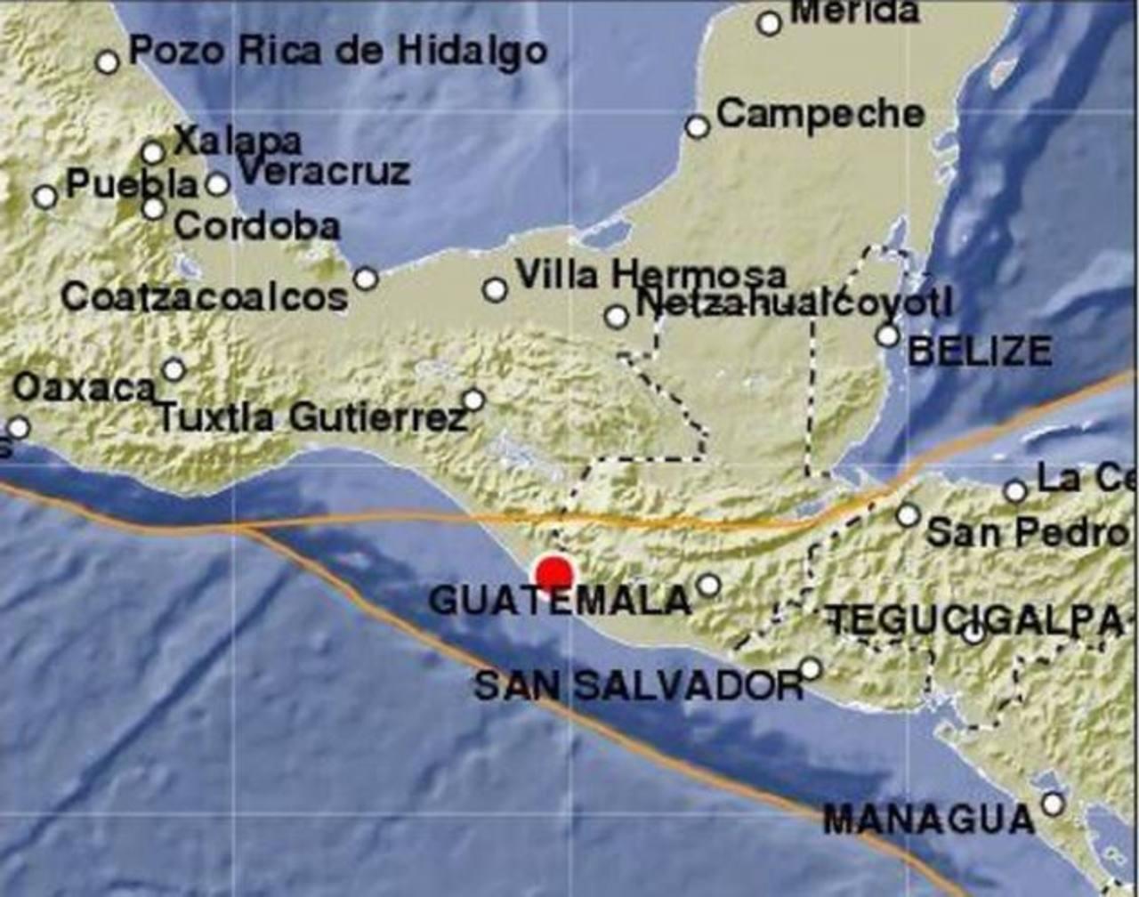 Los sismos ocurrieron en Guatemala y México. No hubo alerta de tsumami. Foto EDH / Archivo.