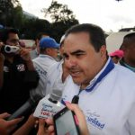 El candidato presidencial por Unidad, Antonio Saca. Foto/ Archivo