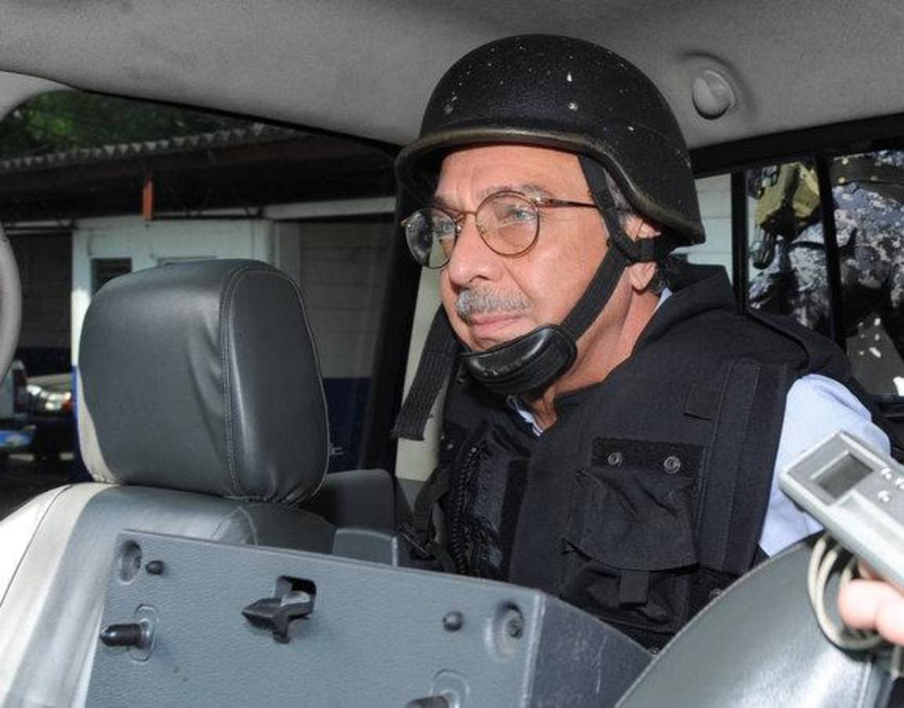 Carlos Perla, ex presidente de ANDA. Actualmente ha cumplido seis años de prisión de los 15 a los que fue condenado. FOTO EDH Archivo.