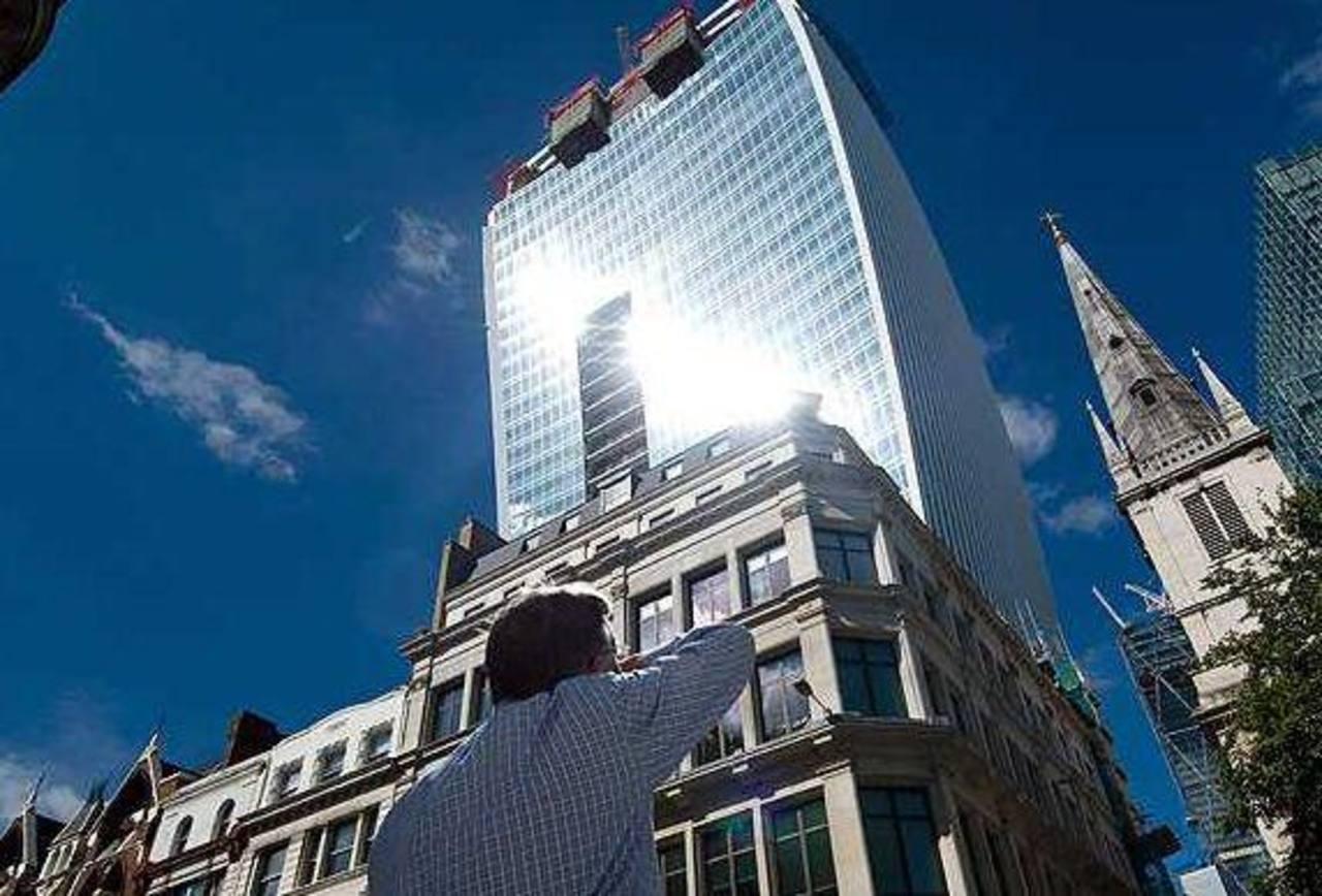 El rascacielos Walkie -Talkie, Londres. Foto tomada de internet