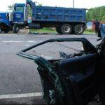 La excesiva velocidad y la imprudencia se cobraron la vida de Óscar Granados en Usulután. Foto EDH / Carlos Segovia