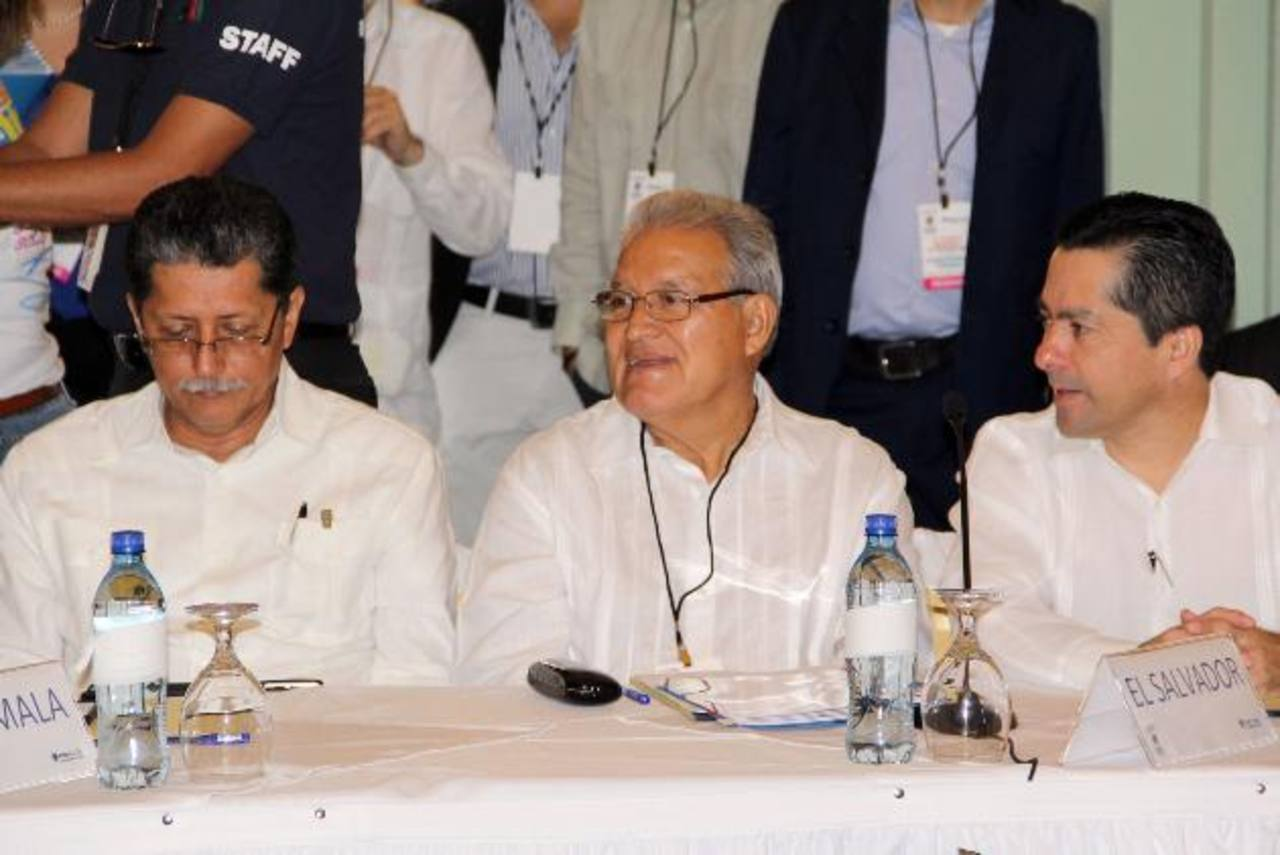 Armando Flores en cónclave de Petrocaribe en Managua, celebrado en junio. Foto EDH