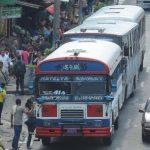 Buseros están temerosos por encuesta del VMT