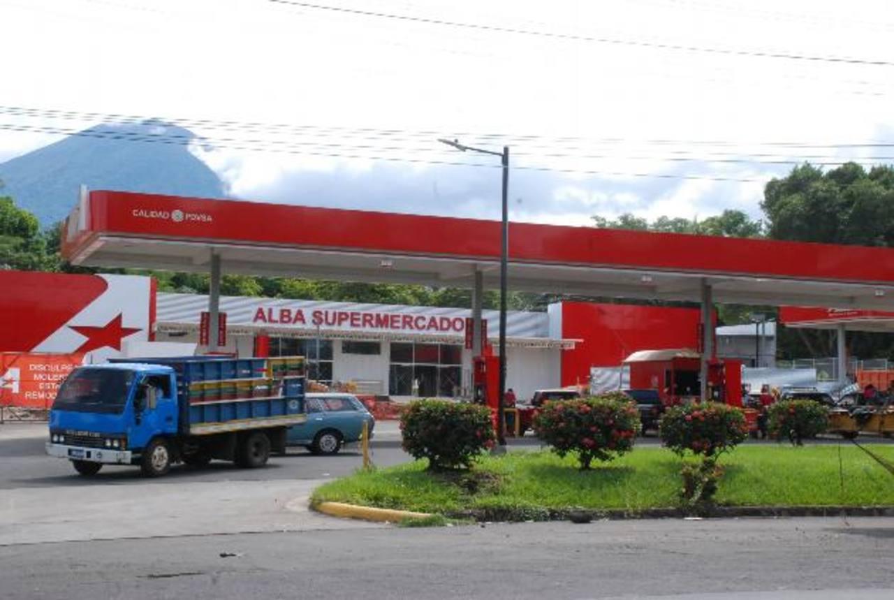 El primer Alba Supermercado, en Quelepa, San Miguel. FOTO EDH / CARLOS SEGOVIA
