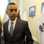 Carlos Linares Ascencio estuvo un año al frente de la Inspectoría General. Fue juramentado el 17 de julio del año pasado por el entonces director de la Policía Francisco Salinas.