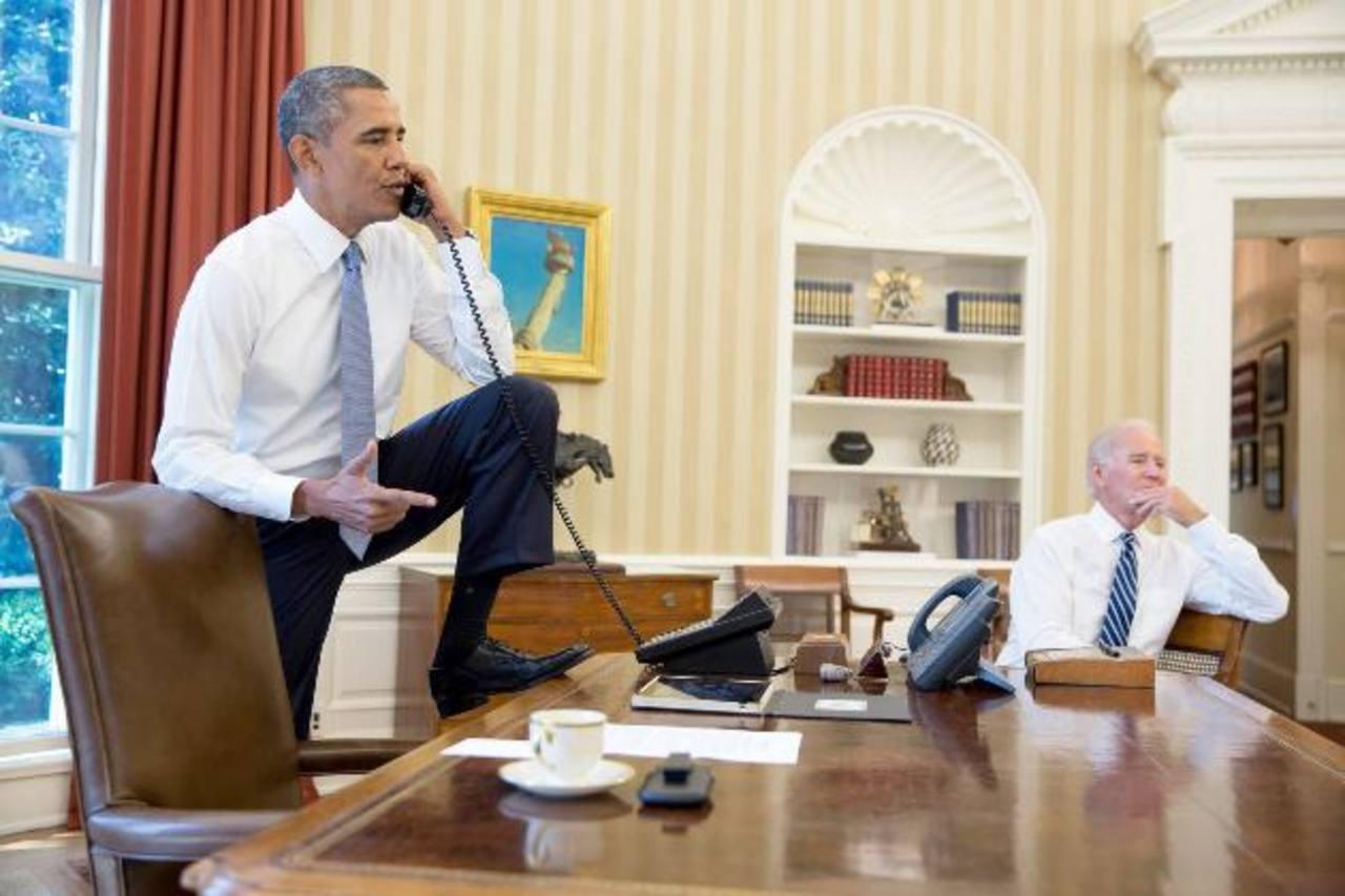 Barack Obama afronta la tarea de convencer a los estadounidenses escépticos y al Congreso de la necesidad de otra ofensiva militar estadounidense después de un decenio de guerra en Iraq y Afganistán. foto edh / EFE
