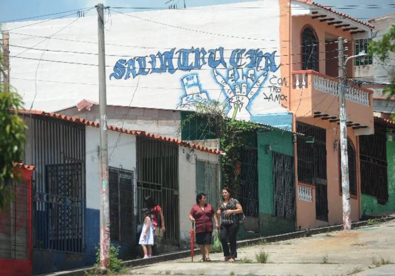 En Montelimar, los grafitis son tan grandes como las paredes de las casas. Varios están pintados en la segunda planta de varias casas. foto edh