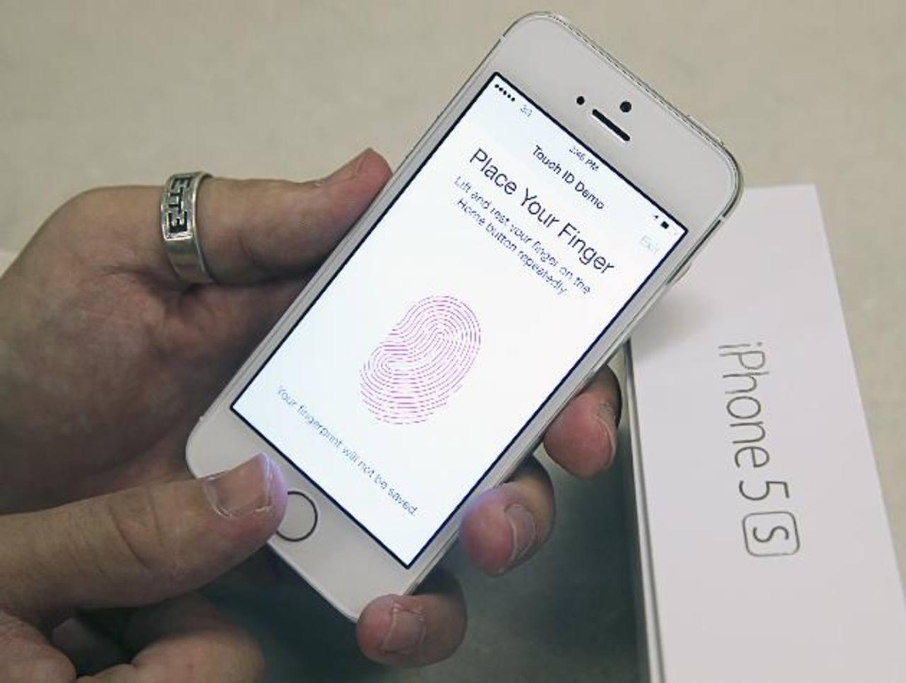 El escáner de huellas digitales es el objetivo de los hackers. foto edh / agencias
