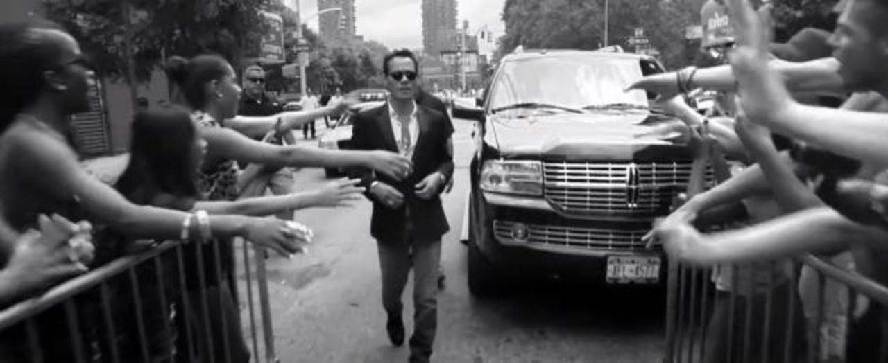 Marc Anthony presenta video de Vivir mi vida