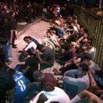 Al menos 90 detenidos registra la Fiscalía durante operativo en San Salvador, Mejicanos y Ciudad Delgado. Foto cortesía FGR