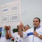 La actividad de Saca tuvo lugar en la cancha de fútbol Vidal Valdés, en el caserío San Jorge, Chalchuapa. foto edh / cortesía