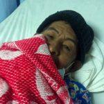 Santos Rosales, de 70 años, recibe diálisis en el hospital Rosales.
