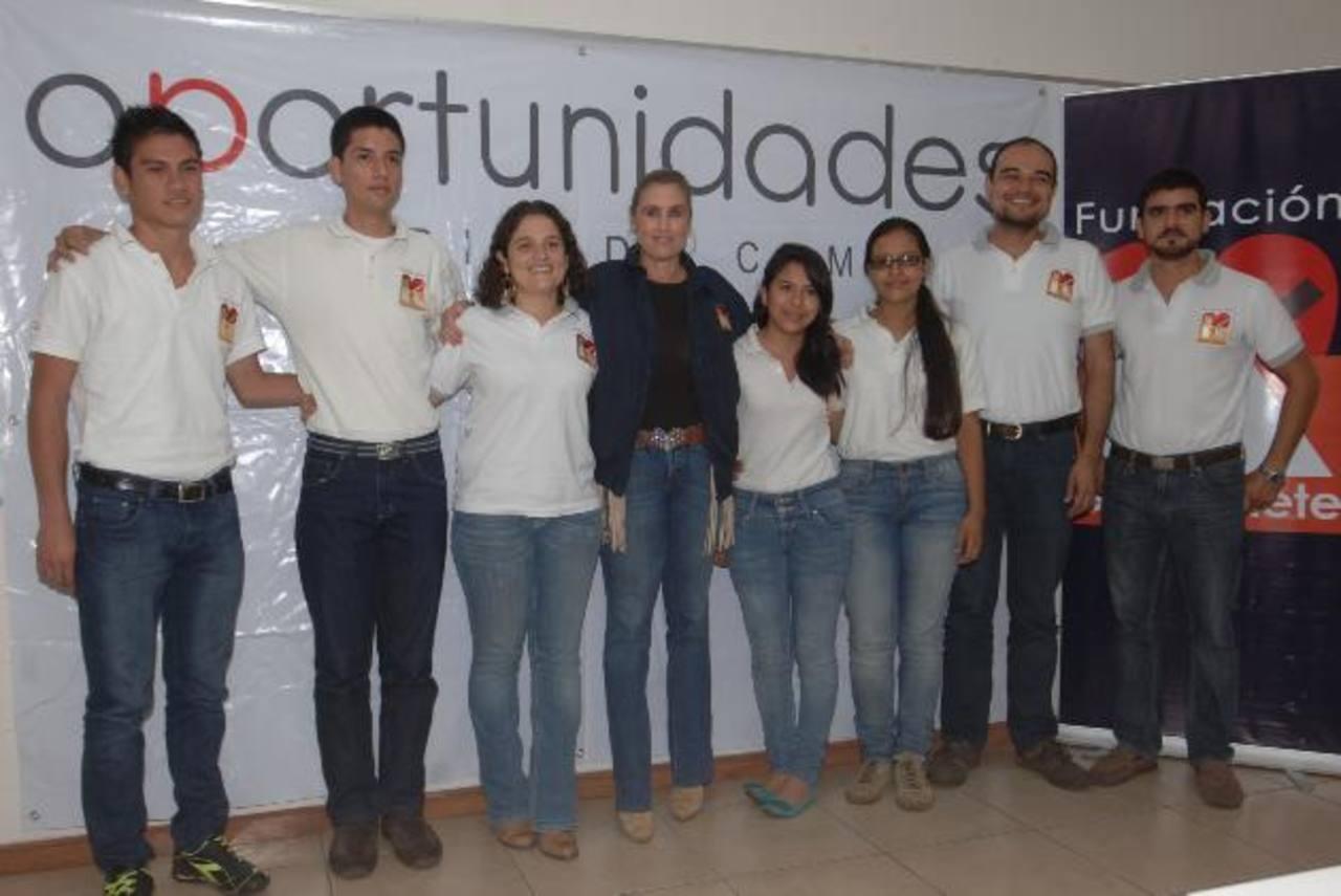 Los jóvenes participarán en charlas motivadoras sobre voluntariado y más. Fotos EDH / Leonardo González