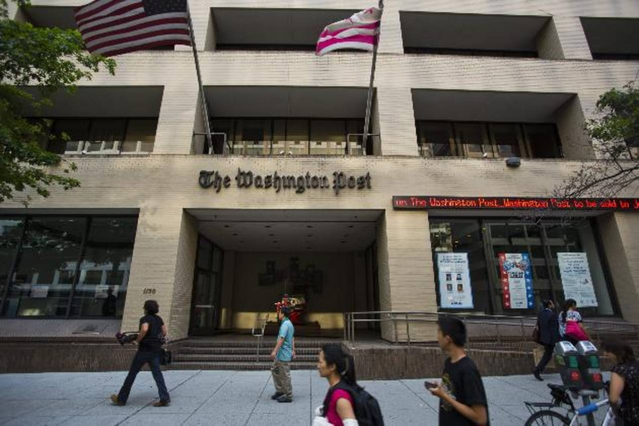Jeff Bezos, el fundador de Amazon.com, adquirió The Washington Post por 250 millones de dólares. Foto/ Archivo