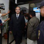 El exministro David Gutiérrez ha sido dejado fuera de las investigaciones de la Diego de Holguín, pese a que él adjudicó e inició la construcción de la carretera. Foto EDH / Archivo.